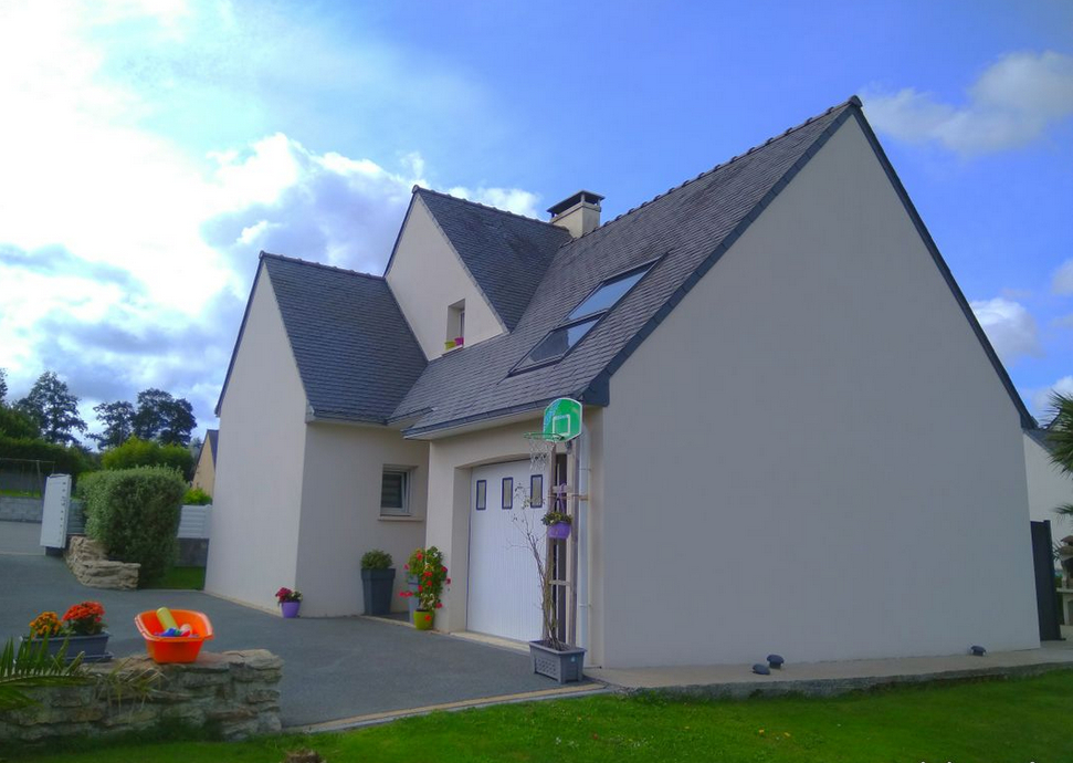 Maison contemporaine à 20 mn de Quimper, avec vie de plain pied
