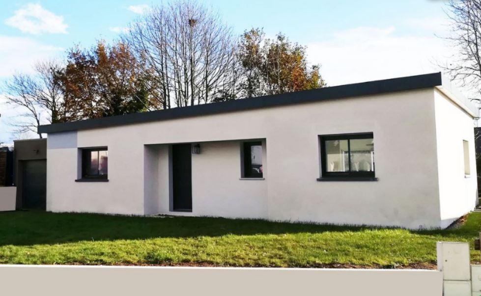 ROSPORDEN Maison contemporaine de plain-pied 105 m²,