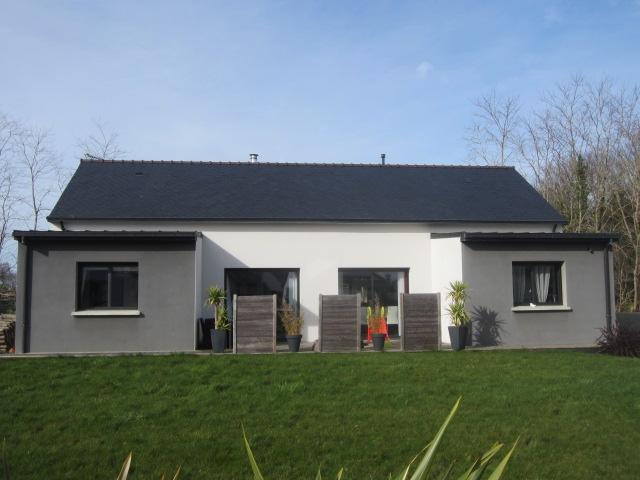 Véritable plain pied de 113 m² avec 3 chambres et  2 SDB à Concarneau